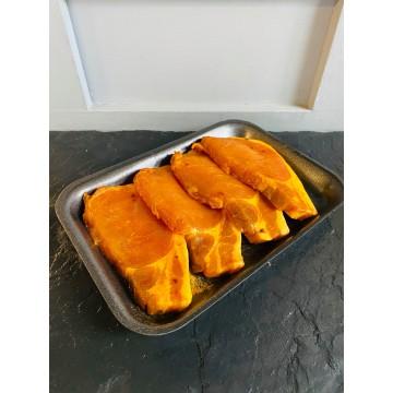 Maple Bacon Pork Chops