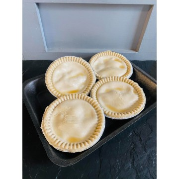 Chicken, Ham and Leek Pies...